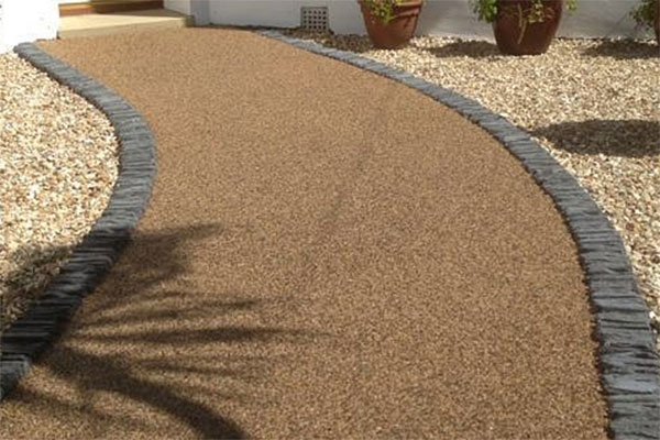 resin bound surfacing for paths & driveways