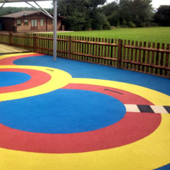 rubber crumb surfacing dorset